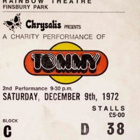 Ticket from &#039;Tommy&#039;