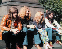 With Led Zepplin 1970